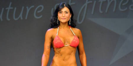 angela thompson bnbf figure bikini strength athlete