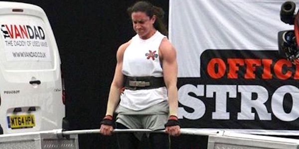 Jenny Todd England strongest woman spartan performance